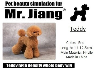 Teddy Body Wig - Red