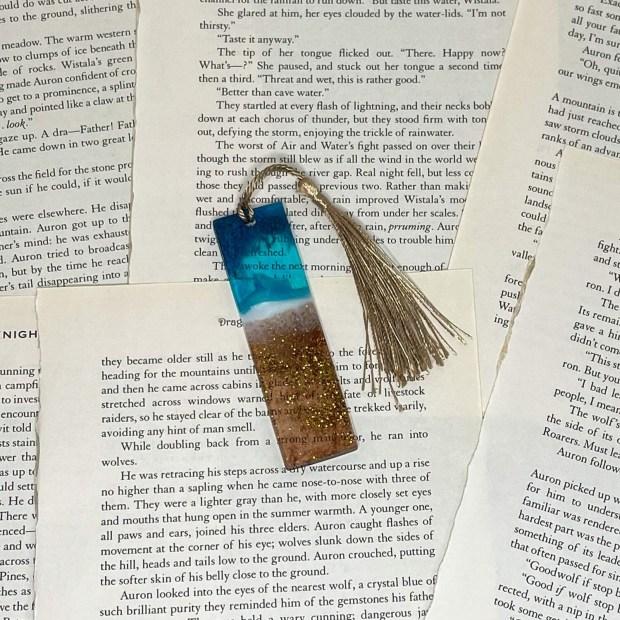 MINI Beach Bookmark