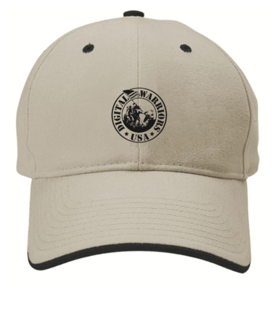 Digital Warriors USA Hat