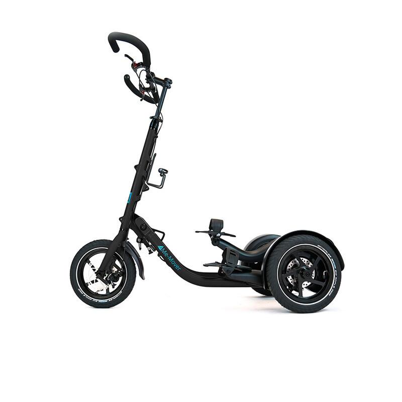 Me-Mover Fit 2.3 - Onyx Black (schwarz)-                                        Faltbarer 3 Rad Fitness Stepper mit 12 Zoll Bereifung für In- und Outdoor Aktivitäten - Neuware
