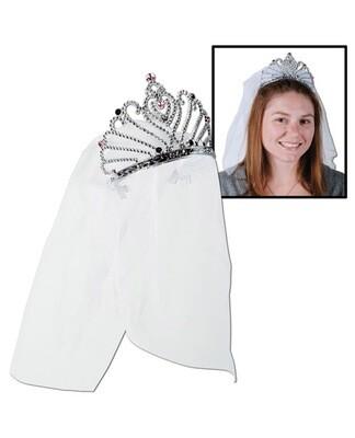 Bride To Be Tiara & Veil