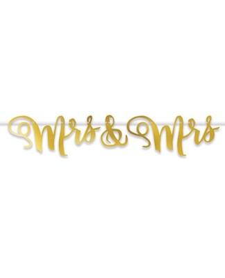 Mrs & Mrs Streamer - Gold