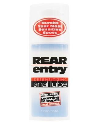 Rear Entry Desensitizing Anal Lube