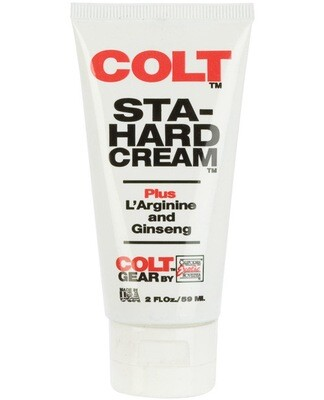 Colt Sta-hard Cream - 2 Oz