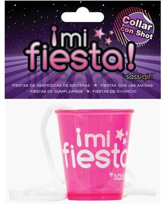 Mi Fiesta Collar Con Shot By Sassi Girl - Pink