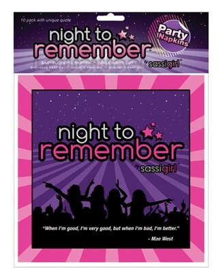 Night To Remember Standard 6.5