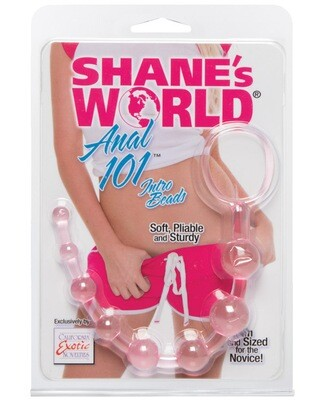 Shane's World Anal 101 Intro Beads