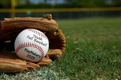 Youth Fall Baseball 2020
