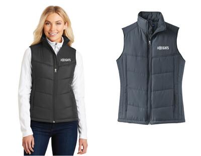 The Heights - Ladies Port Authority® Ladies Puffy Vest