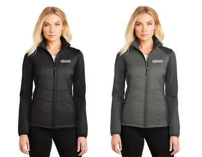 The Heights - Port Authority® Ladies Hybrid Soft Shell Jacket