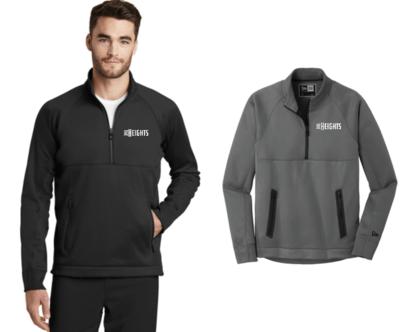 The Heights- Mens New Era ® Venue Fleece 1/4-Zip Pullover