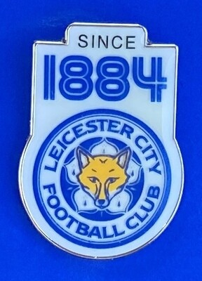 Official Leicester City FC 1884 Pin Badge (England)