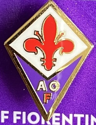AC Fiorentina (Italy) Logo Pin Badge