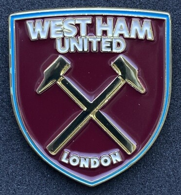 West Ham United (England) Crest Pin Badge