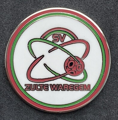 SV Zulte Waregem (Belgium) Logo Pin