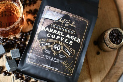 Chef Bob's Bourbon Barrel Aged Coffee