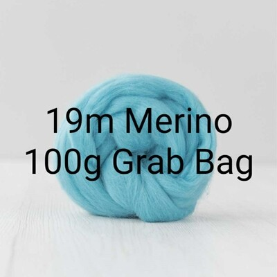 19m Merino Grab Bag - 100g - assorted colours