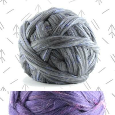 Merino/Bamboo/Tweed Top