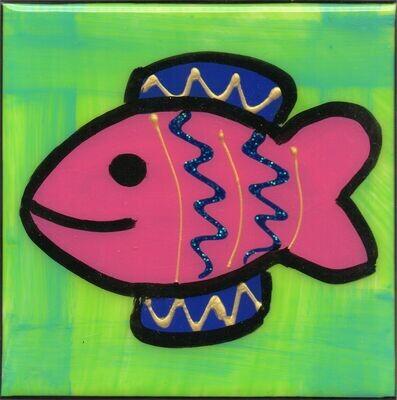 Fin Fish Coaster