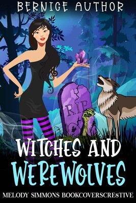 Witches and Werewolves - Click to view SET of 3