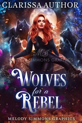 Wolves for a Rebel - Set of 3 Covers
