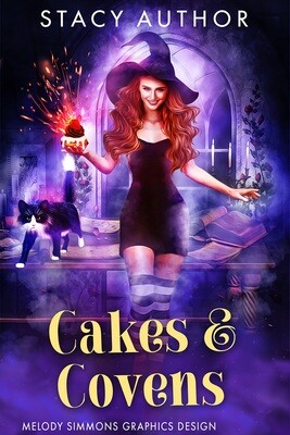 Cakes & Covens SET of 3 Covers