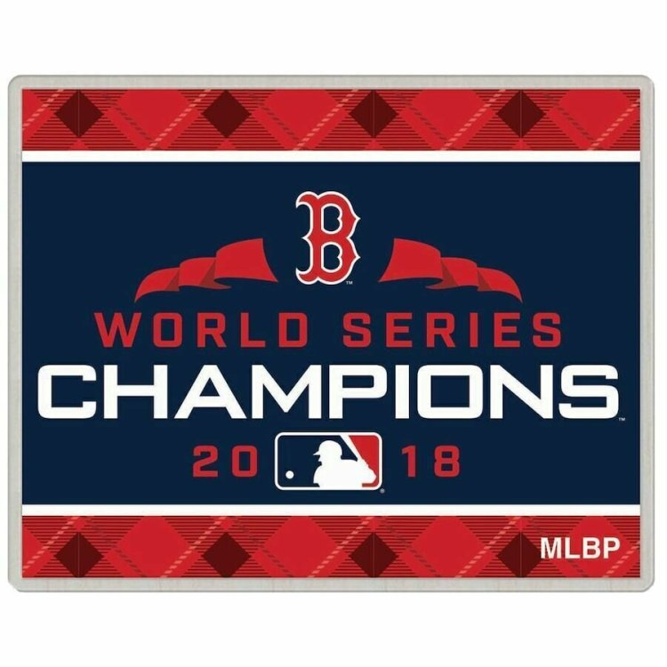 Boston Red Sox WinCraft 2018 World Series Champions Collector Pin