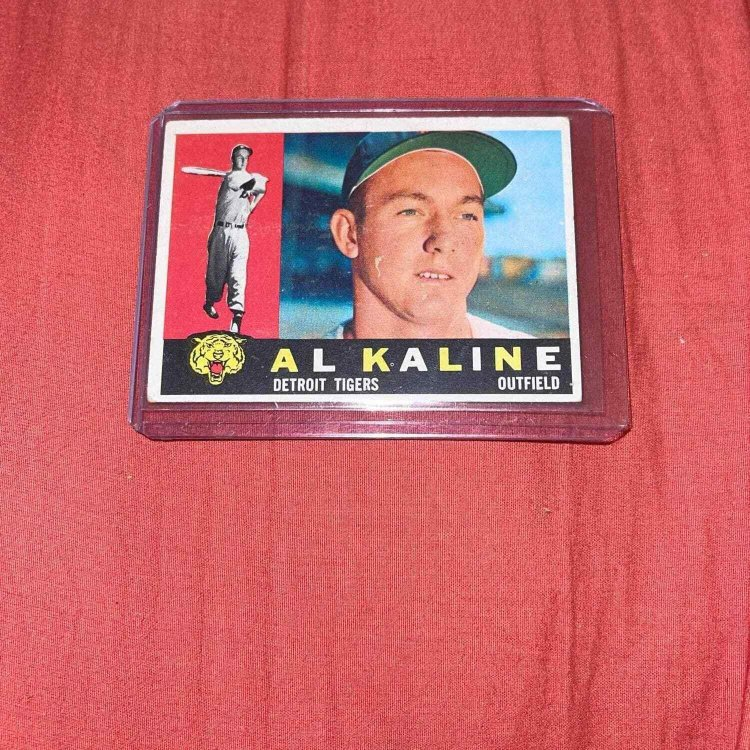 Al Kaline 1960 topps 50