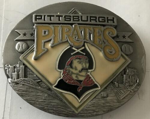 Pittsburgh Pirates Siskiyou Belt Buckle Mlb 1994