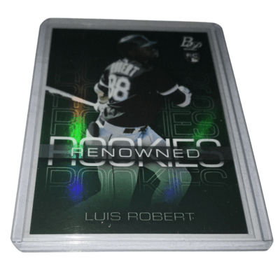 Luis Robert 2020 Bowman Limited Rookie Renowned Green /99