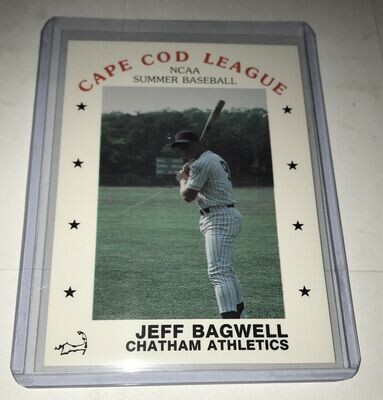 Jeff Bagwell Cape Cod Summer Baseball