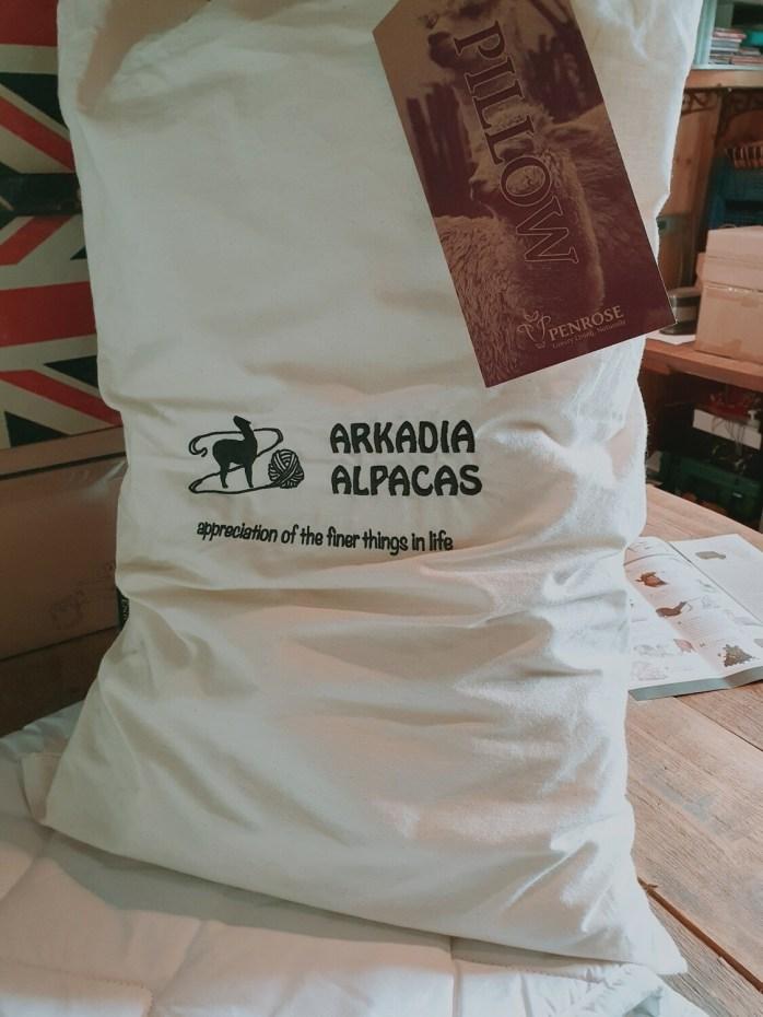 Natural Alpaca Pillow 72cm x 46cm