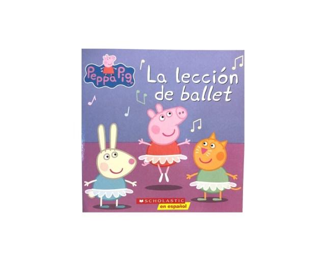 Peppa Pig. La lección de ballet.