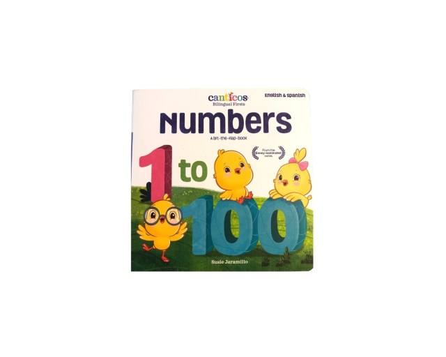Numbers. Canticos. English & Spanish. 1 - 100.