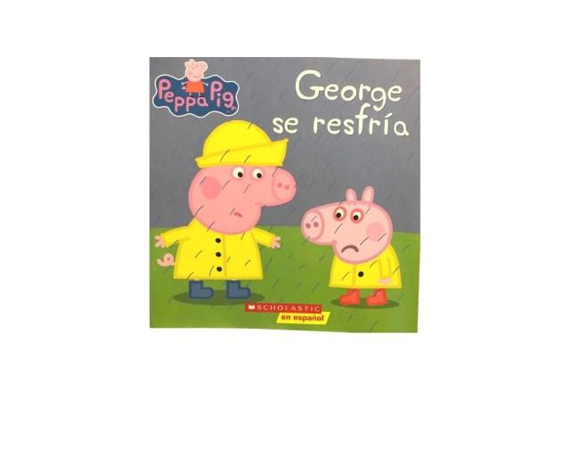 Peppa Pig. George se resfría.