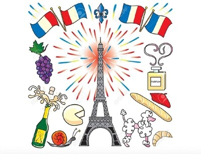 An Introduction to French Cuisine and its History E-book(Bilingual: English & Chinese / 法國料理的介紹及歷史演變電子書(中英對照)
