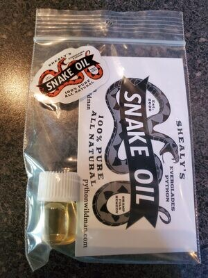 Shealy's snake oil
