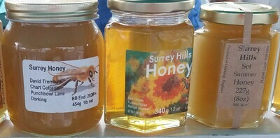 Honey: small pot. (227g). Local beekeepers.