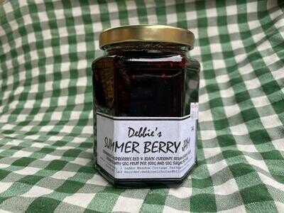 Jam: Summer Berry. Debbie's.