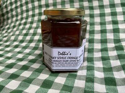 Marmalade: Dark & Chunky Seville Orange. Debbie's.