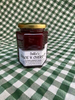 Jam: Quince & Cherry. Debbie's.