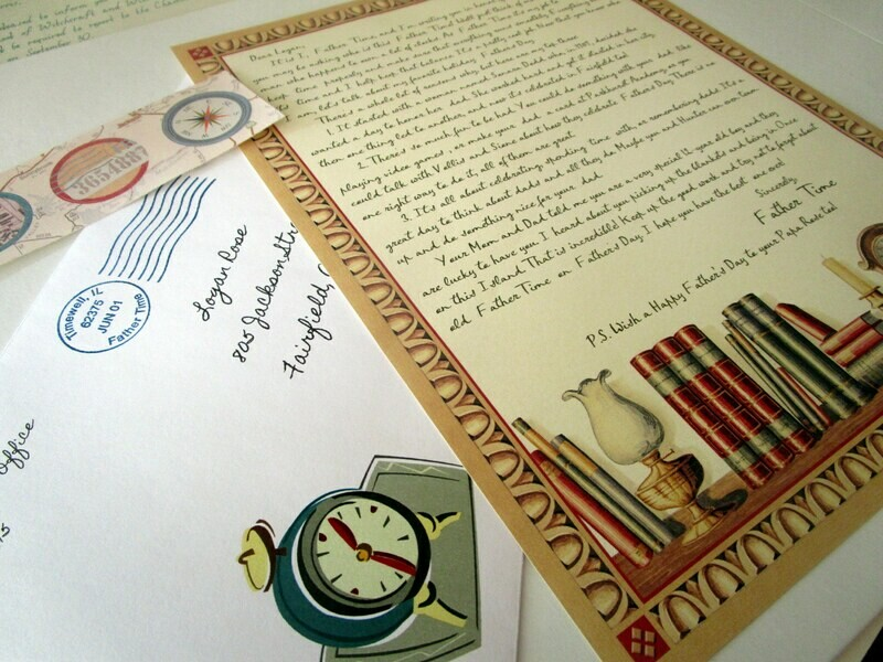 Letter from Father Time