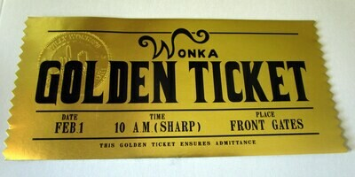 Modern Golden Ticket