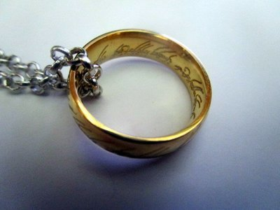Lord of the Rings - One Ring Necklace
