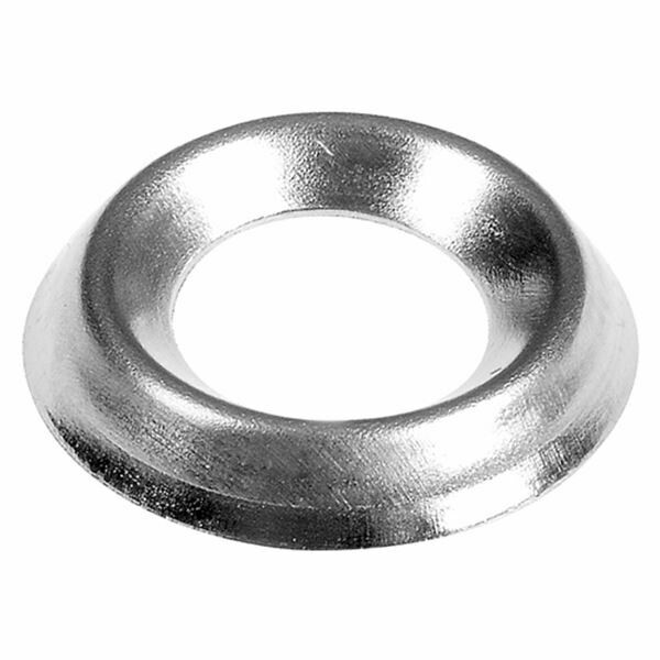 No.6 (3.5mm) Nickel Plated Screw Cups - Pack of 60