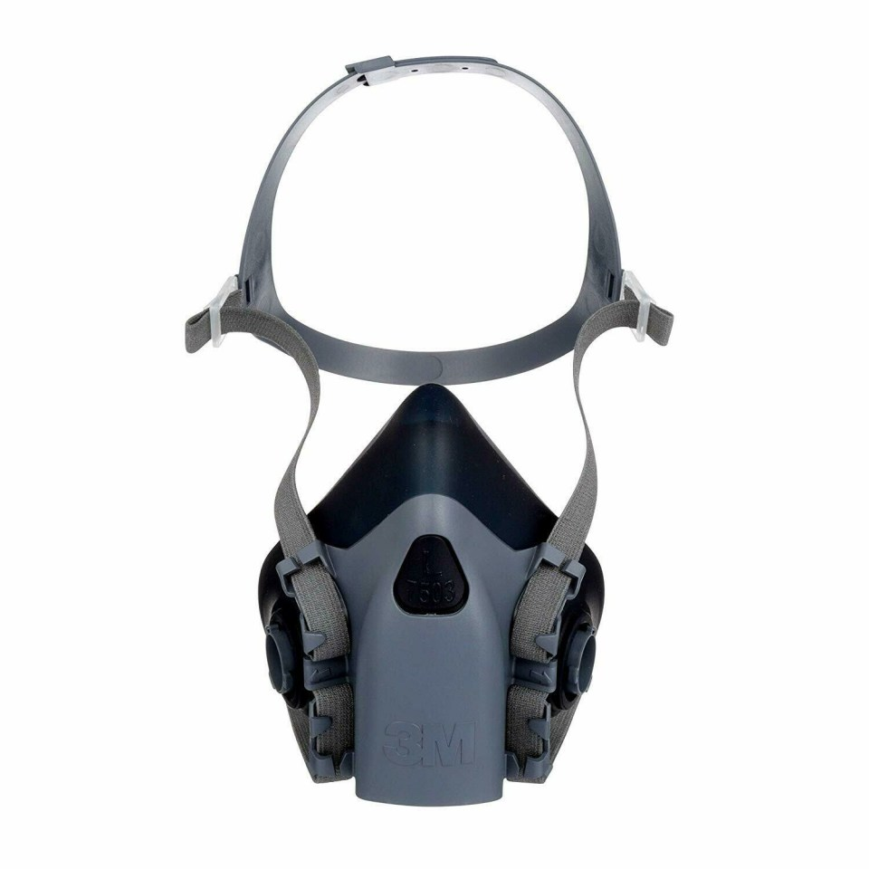 3M 7503 Reusable Silicone Half Face Mask (Large)