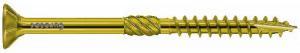 12.0mm x 160mm Paneltwistec Screws Countersunk TX50 Torx Drive Zinc & Yellow Coated Box of 25