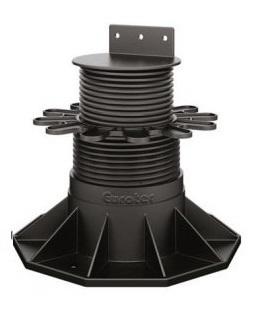 Eurotec Adjustable Decking Pedestal - Eco XL Adjusts from 130mm up to 198mm