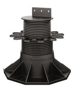 Eurotec Adjustable Decking Pedestal - Eco XL Adjusts from 130mm up to 198mm