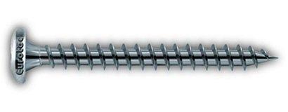 4,0 x 35 mm Pan-head TX 1000 - chipboard screw, External coated steel; TX20  Box of 1000